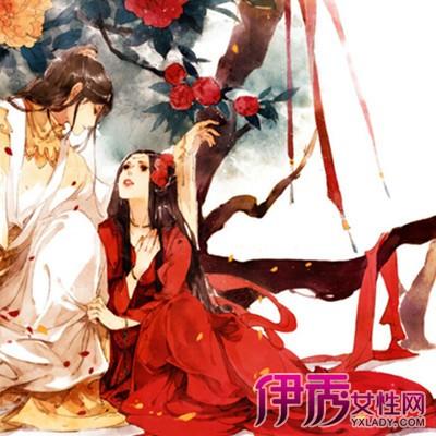 【图】鉴赏手绘古风意境情侣图片 介绍中国风手绘