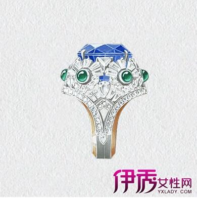 【图】戒指设计图手绘大全 别具魅力光彩的戒指增添浪漫气氛