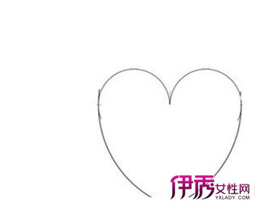 【图】手绘心型图片介绍 4步教你轻松画心形