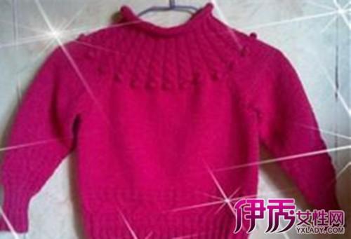 【手工编织毛巾线毛衣】【图】手工编织毛巾线毛衣