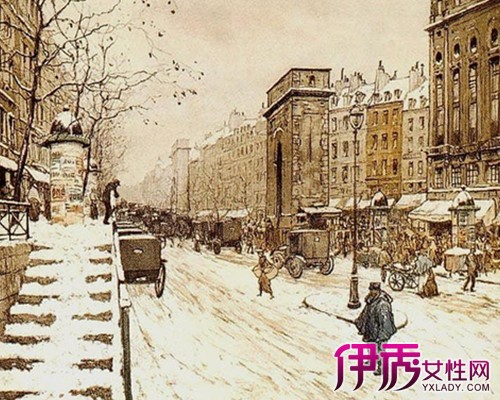 【图】英伦街道手绘插画图片鉴赏 手绘的四个素质条件你达到了吗