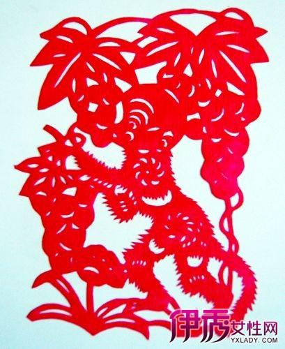 猴年剪纸画图片展示 剪纸的发展历史你了解吗