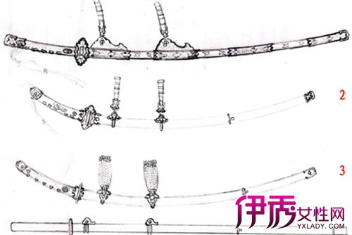 【手绘日本刀】【图】手绘日本刀图片展示