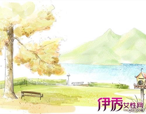 【图】好看的手绘秋天图片大全 5个技巧教你画出最美秋景图
