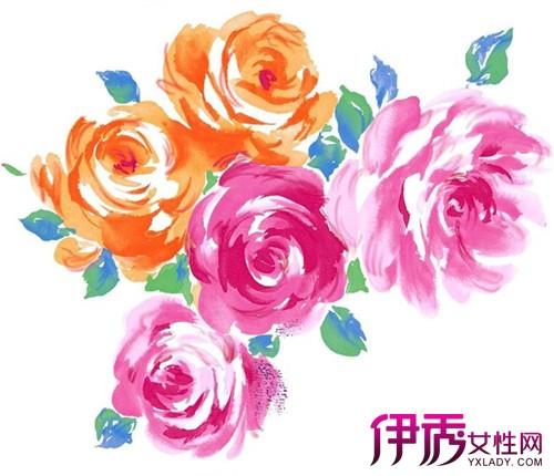 【图】水粉的手绘牡丹花丛欣赏 5个技巧画出精美国花