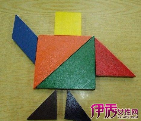 【图】七巧板报拼图大全 三种玩法激发想象力