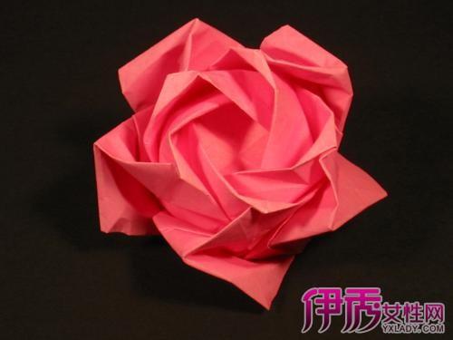 【折玫瑰花步骤图】【图】折玫瑰花步骤图 简
