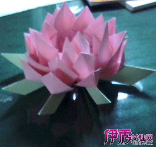 【莲花灯 折法】【图】莲花灯的简单折法