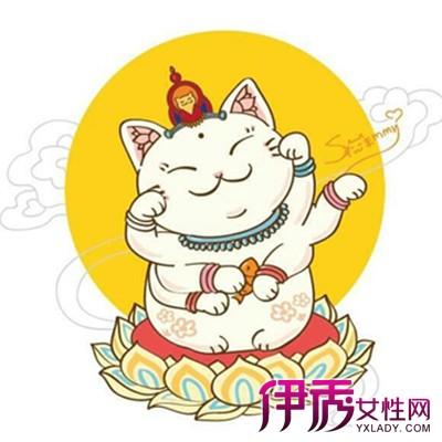 【招财猫手绘】【图】招财猫手绘图片观赏