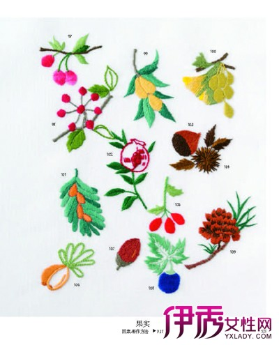 【卷针玫瑰花刺绣方法】【图】卷针玫瑰花刺绣方法