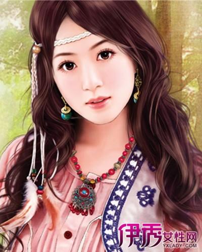 【图】手绘现代女子发型图片欣赏