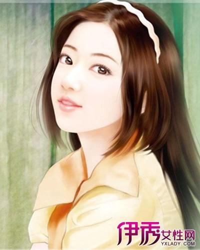 【手绘现代女子发型】【图】手绘现代女子发型图片