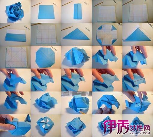 >> 文章内容 >> 漂亮折纸花的详细步骤图解  怎样叠简单又漂亮的折纸