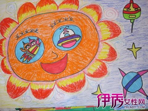 大班幼儿绘画作品图片展示图片