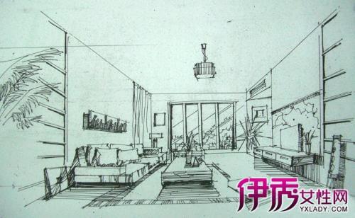 【图】室内手绘效果图 你理想的家就在这里