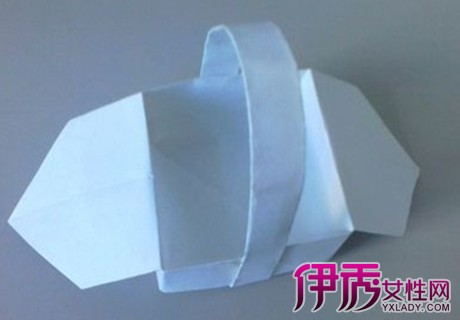 【图】如何折出漂亮的花篮?纸折花篮步骤图解
