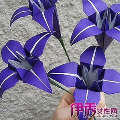 【图】折纸百合花步骤图解大全
