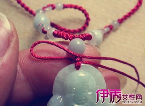【玉坠项链绳编法图解】【图】研读玉坠项链绳编法