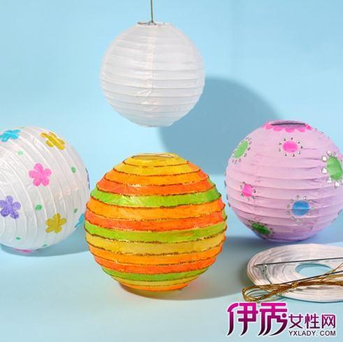 纸灯笼的做法图解教程 教你自制漂亮的纸灯笼