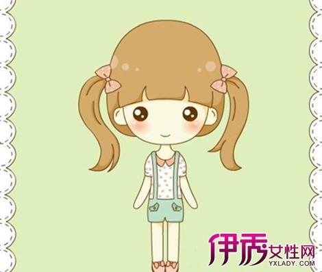 【图】可爱简笔画人物女孩 简笔画人物画法