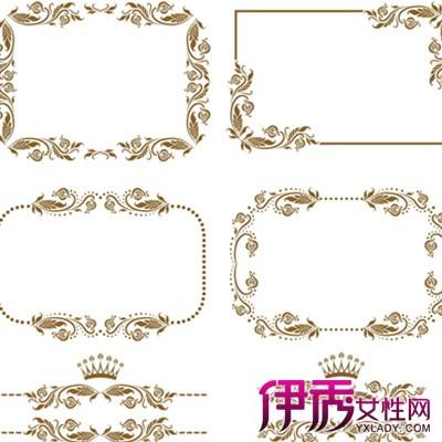 【图】简单漂亮花边边框图片欣赏 六大手抄报的装饰美化告诉你