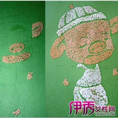 【创意手工蛋壳粘贴画】【图】简单的幼儿创意手工画