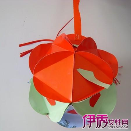【简单卡纸灯笼】【图】简单卡纸灯笼图片欣赏