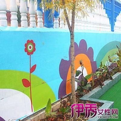 图】幼儿园墙面彩绘图片展示