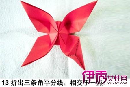 【蝴蝶折纸花步骤图解】【图】蝴蝶折纸花步骤图解