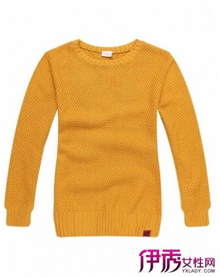 【圆领毛衣领子的织法】【图】圆领毛衣领子的织法是