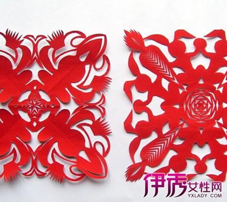 最新剪花边纸图解大全 三种剪纸介绍图片