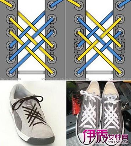 鞋带的24种系法,鞋带的系法图解的知识
