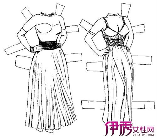 【图】公主裙简笔画图片大全 教你怎么穿公主裙成为众人触目的焦点