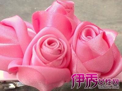 【缎带玫瑰花做法】【图】缎带玫瑰花做法大解析