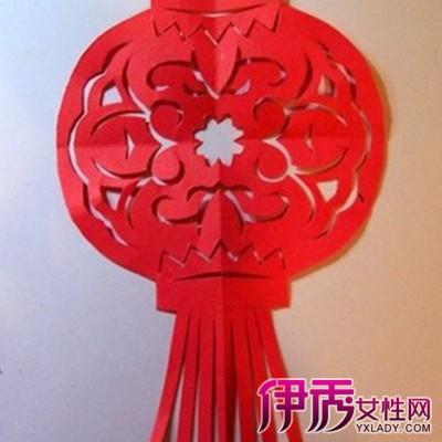 【幼儿园手工剪纸灯笼】【图】幼儿园手工剪纸灯笼