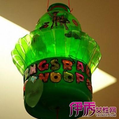 【用可乐瓶做手工灯笼】【图】如何用可乐瓶做