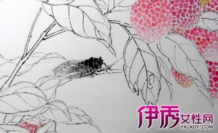 【图】水果蔬菜简笔画 水果荔枝简笔画