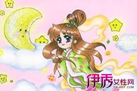 中秋节主题绘画 让