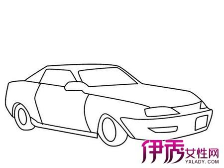 儿童画汽车的画法