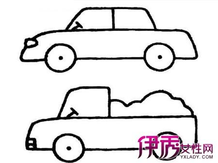 【儿童画汽车的画法】【图】儿童画汽车的画法
