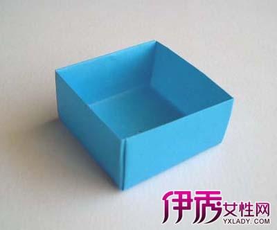 盘点方形折纸盒做法大全 教你两种巧折折纸盒