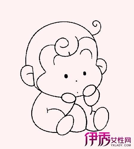 【小猴子简笔画图片】【图】小猴子简笔画图片欣赏