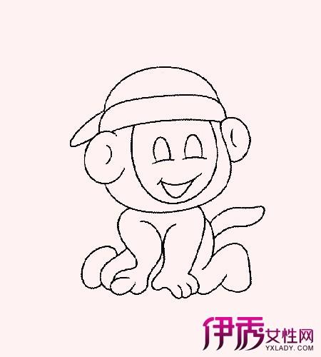 【图】小猴子简笔画图片欣赏 3大知识要点你学会了吗