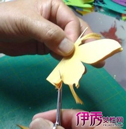 【蝴蝶花边剪纸教程】【图】蝴蝶花边剪纸教程推荐