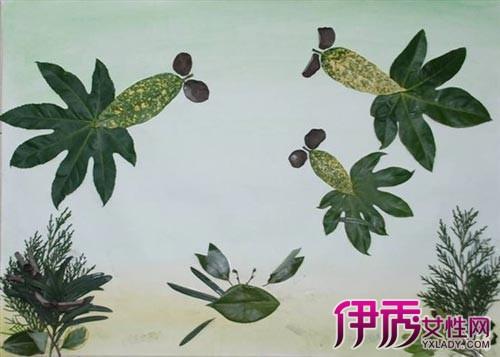 树叶绘画没有单能够增多亲子举止的兴味性,也能够转达一些相关的动物图片