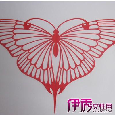 【蝴蝶剪纸图案】【图】蝴蝶剪纸图案展示