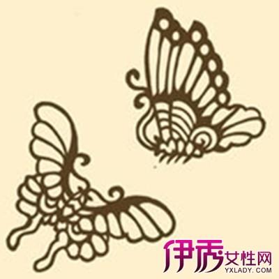 【蝴蝶剪纸图案 画法 】【图】蝴蝶 剪纸 图案 画法 教学-剪纸的折法及