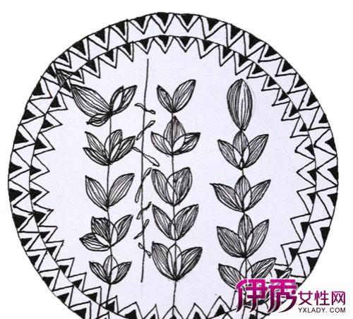 【手绘黑白装饰画】【图】手绘黑白装饰画绘制方法