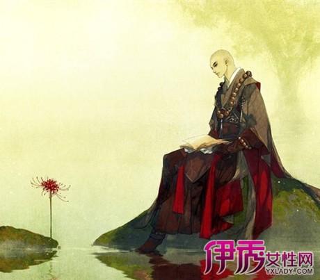 【彼岸花手绘古风美男】【图】看彼岸花手绘古风美男