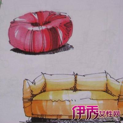 而且中式古典家具的手绘图案大多是彩绘